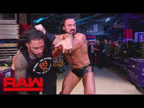 Drew McIntyre ambushes Roman Reigns: Raw, April 1, 2019