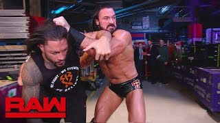 Drew McIntyre ambushes Roman Reigns: Raw, April 1, 2019