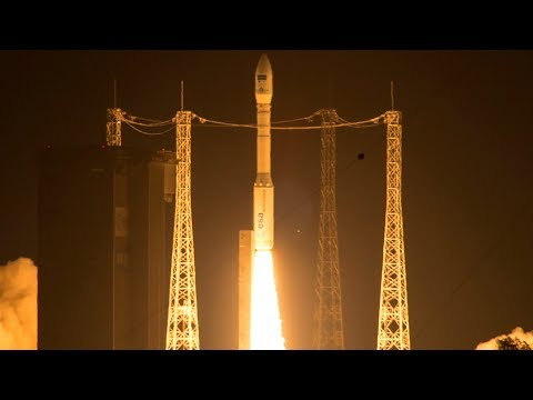 Arianespace Vega Rocket VV11 Live Launching MN35-13 Earth Observation Satellite