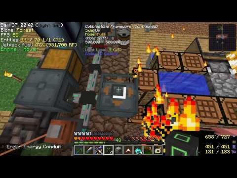 Minecraft - Project Ozone 2 #39: Solar Panels