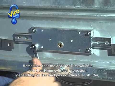 Central Roller Shutter Lock Youtube