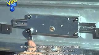 Central Roller Shutter Lock