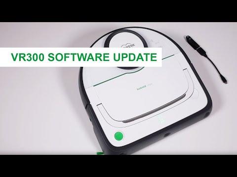 VR300 Saugroboter Manuelles Software Update