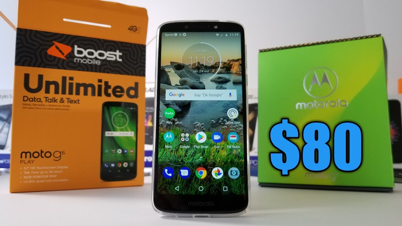 Moto G6 Play Detailed Unboxing and Hands-On   WOW only $80 at Walmart