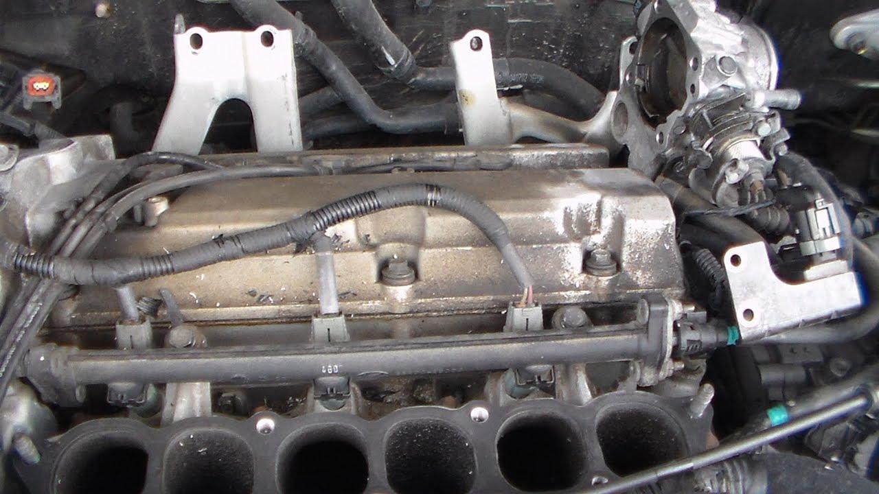 Ford 3 0 V6 Engine Diagram Egr How To Remove Rear Spark Plugs 2005 Kia Sedona Part 1