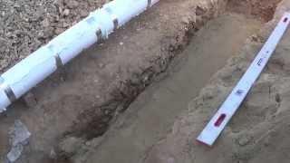 Строим дом ЧАСТЬ 10 Подвод канализации в дом(, 2014-09-06T16:44:38.000Z)