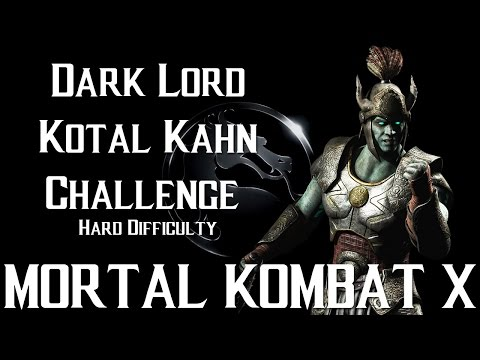 Mortal Kombat X Mobile - Dark Lord Kotal Kahn Challenge Hard Difficulty
