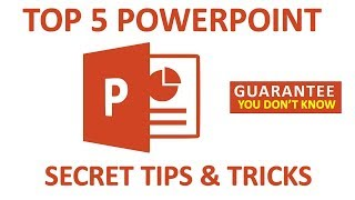 Top 5 Microsoft PowerPoint Tips And Tricks 2018. You Don't Know. Exclusive Bangla Tutorial