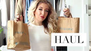 HAUL | Primark Try-On Shoplog Spring/Summer 2016