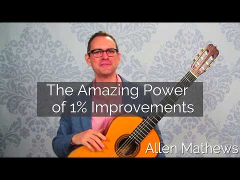 The Amazing Power of 1% improvements on Classical Guitar
