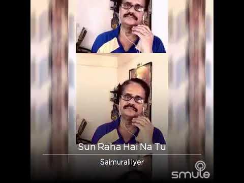 Saimurali sings Sun raha hai na tu....A smash hit song from Ankit Tiwari 😢💕🎤👌