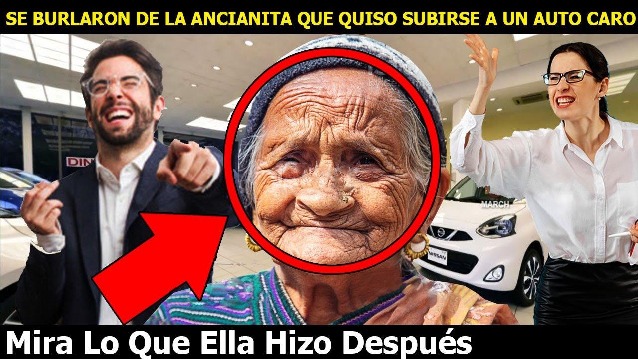 Se Burlaron De La Ancianita Pobre Por Querer Subirse A Un Auto Caro Mira Lo Que Ella Hizo Después