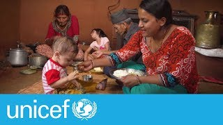 How to feed your young child with care | UNICEF