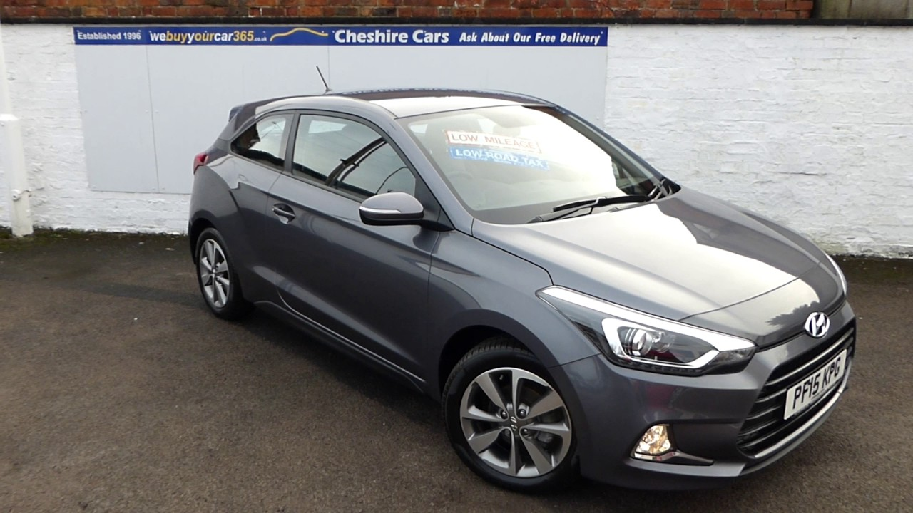 Hyundai I20 Se 3 Door 2017 9500 Miles Free Uk Delivery Cheshire Cars
