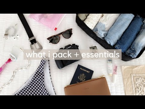 What I Pack + My Travel Essentials ✈️👙
