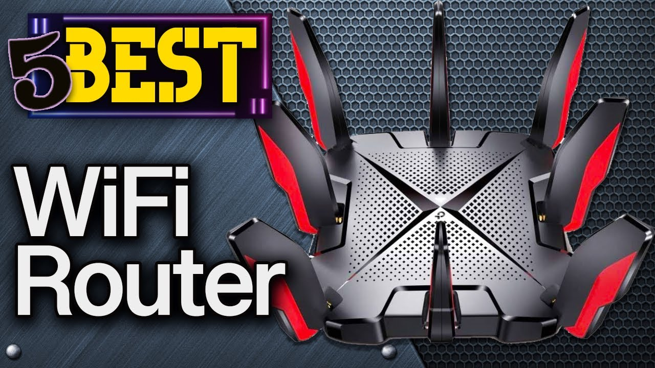 ✅ TOP 5 Best Wifi Routers    [ 2021 Buyer's Guide ]