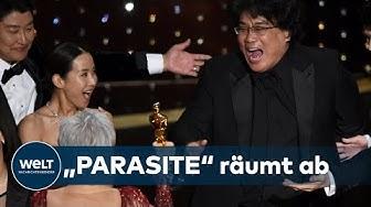 """OSCARS 2020: Vier Oscars für südkoreanische Satire """"Parasite"""" - auch bester Film"""