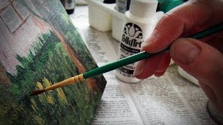 Acrylic Painting Tip #56 - Developing Your Own Painting Style