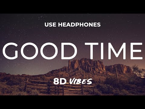 Niko Moon - Good Time (8D AUDIO) 🎧