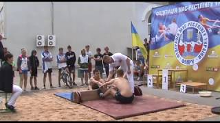 Чемпіонат України 2018 року,мас рестлінг Юнаки та юніори  Софіївка