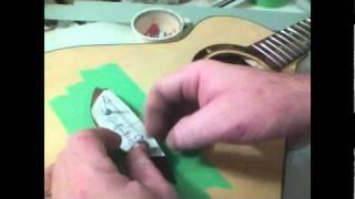 Vid31 Bridge Clamp - Building An Acoustic Guitar