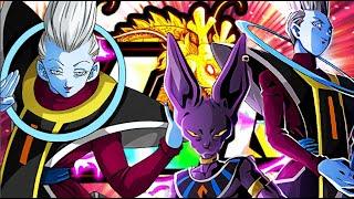 "A ""Godly"" Combo?! LR Beerus & Whis + STR Whis Showcase   Dragon Ball Z Dokkan Battle"