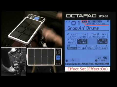 OCTAPAD SPD-30 Expanded Examples (Vol.1)