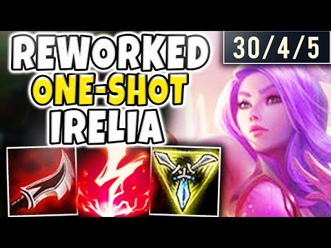 THIS REWORKED IRELIA ONE-SHOT BUILD IS ABSOLUTELY INSANE! TH