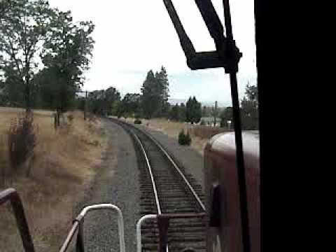 Central Oregon & Pacific Railroad, Siskiyou Sub Part 2.wmv
