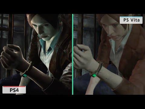Resident Evil: Revelations 2 PS Vita vs PS4 Comparison ...