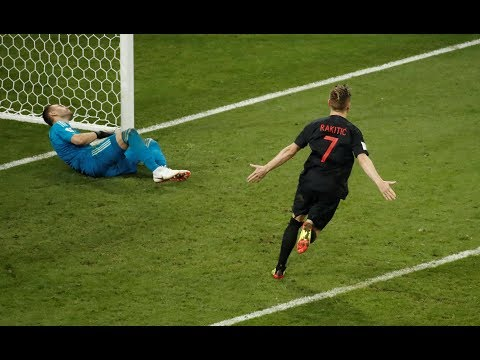 FULL PENALTY SHOOT OUT.. CROATIA VS RUSSIA (4-3) FULL HD 1080P