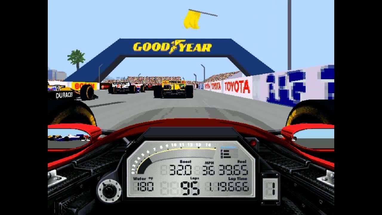 IndyCar Racing II  Fun Race  YouTube