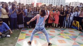 Faceoff -dance performance in SRMU feast