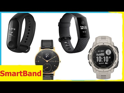 Top 5 Smartband 2019 Wich One Is The Best Fitness Tracker !