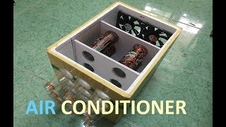 How to Make Portable Air Conditioner at Home | Saving Ice Cold