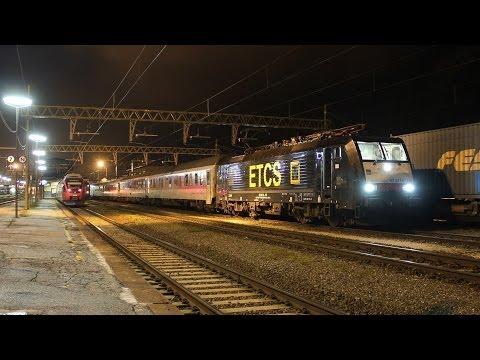 Bunter Bahnbetrieb am Brenner - SAD 189 115 ETCS