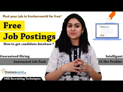 Free Unlimited Job Posting - Myths about free job posting portals II HR Recruiting Tips