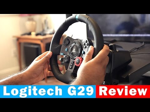 22daeb188d7 Logitech G29 Driving Force Racing Wheel For PS4/PC - Full Review - YouTube