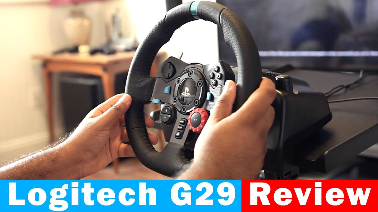 logitech g29 driving force racing wheel for ps4 pc fu doovi. Black Bedroom Furniture Sets. Home Design Ideas
