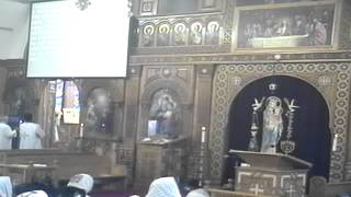 Divine Liturgy 3/3/13- Father Kyrillos Said