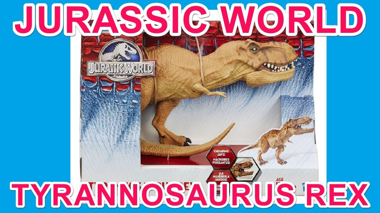 ティラノサウルス レックス ジュラシック・ワールド 16インチ チョンピング アクションフィギュア