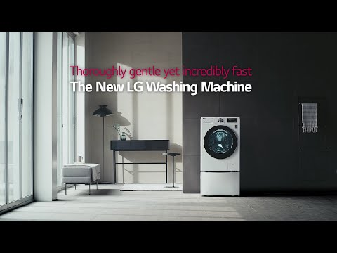 LG Washing Machine With AI DD™ Product Movie (Full Ver.)