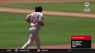 2018 Baseball Championship - Texas Tech vs Oklahoma State Baseball Highlights, Game 6