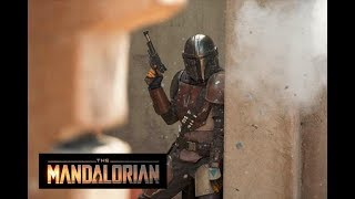 We got our first glimpse at the new 'Star Wars' show: 'The Mandalorian'
