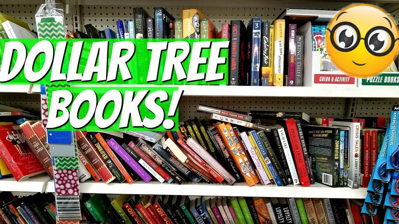 Let\'s Go To The DOLLAR TREE BOOKS !Shop With Me 2017 - YouTube