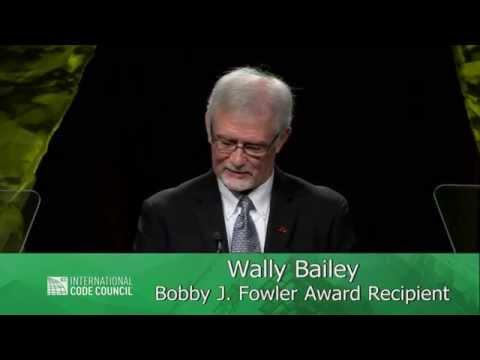 2014 ICC Annual Banquet: Bobby J. Fowler Award Presentation: Wally Bailey