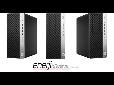 HP EliteDesk 800 G3 Tower PC 1HK14EA Unboxing / HP EliteDesk Desktop PCs