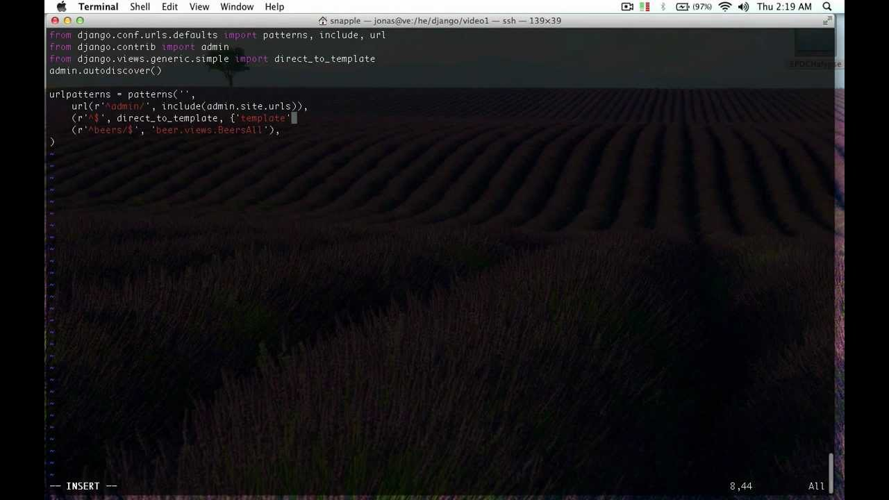 Django Tutorial 3 - Views and Templates - Hacked Existence - YouTube
