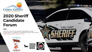 2020 Virtual Citrus County Sheriff Candidate Forum