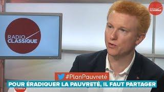 POUR ÉRADIQUER LA PAUVRETÉ, IL FAUT PARTAGER - Adrien Quatennens